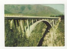 Cape Paul Sauer Bridge Storms River South Africa Postcard 455a