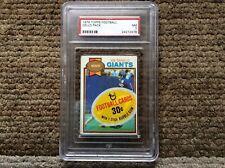 1979 TOPPS FOOTBALL CELLO PACK PSA GRADED 7