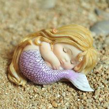 Miniature Fairy Garden SLEEPING LITTLE MERMAID (NEW)