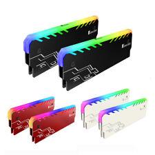 Desktop PC DDR DDR3 DDR4 Speicher Kühler Hitze Spreizer Kühler RGB RAM Kühler