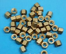 50pcs M3 4mm PCB Boards Hexagonal Hex Screw Net nut Female Brass Standoff Spacer