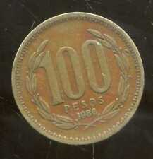 CHILI   100 pesos  1986