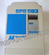 REPAIR SERVICE- MAGNETEK GPD503-DS306, 230V, 2.2kW, 3HP