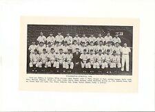 A's 1948 Team Picture Earle & Connie Mack Ferris Fain Elmer Valo Eddie Joost