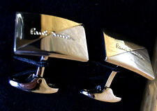 Paul Smith VERY RARE Cufflinks SILVER & GOLD Tone & Paul Smith Signature Fronts