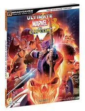 Ultimate Marvel vs Capcom Brady Games Strategy Guide - PlayStation 3 - Xbox 360