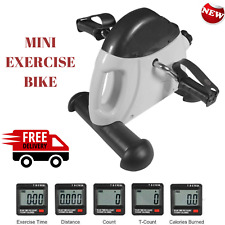 Mini Arm & Leg Exercise Bike Portable Workout Office Home Cycle Pedal Exerciser