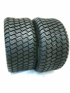 Set TWO - 15x6.00-6 Lawn Tractor 4 Ply Rated Heavy Duty 15x6-6 NHS