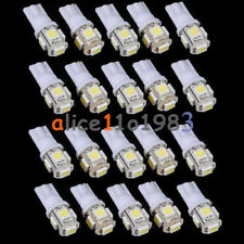 5PCS T10 5050 W5W 5 SMD 194 168 LED White Car Side Wedge Tail Light Lamp 12X30m