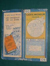 Carte MICHELIN n°60 Le mans Paris 1928