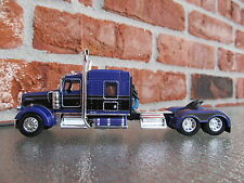 DCP 1/64 SCALE W-900 KENWORTH MID ROOF PURPLE/BLACK SEMINOLE STRIPE TRACTOR ONLY