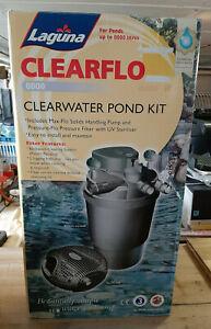 * LAGUNA - Teichset für klares Wasser - Modell Clear Flo 8000 *