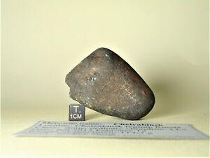 meteorite Chelyabinsk, chondrite LL5, fresh broken stone 114,7 g, Russia