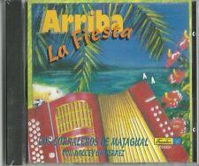 Arriba La Fiesta Los Corraleros De Majagual Con Dolcey Gutierrez Music CD New