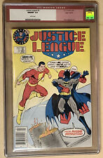 Justice League #3 Superman Test Logo Variant CGC 9.8 Kevin Maguire Keith Giffen