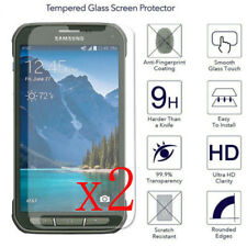 2X HD Tempered Glass Screen Protector  Film for Samsung Galaxy S5 Active SM-G870