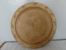 More details for **~~ vintage wood carved english bread board kitchenalia cottage display ~~**