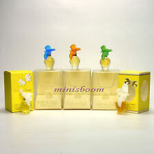 Nina Ricci L'AIR DU TEMPS 5 Miniature Collection White and Colored Doves Vintage