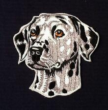 DALMATION 101 RETRIEVER CRUFFS PET SPOTTY DOG SHOW BREED BADGE IRON SEW ON PATCH