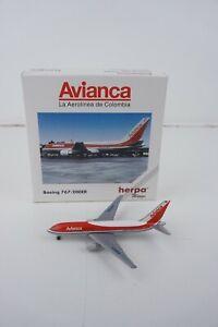 Herpa Wings Avianca Boeing 767-200ER #502863 1:500 Die-Cast Model Airplane