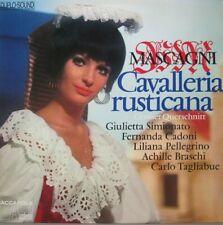 CAVALLERIA RUSTICANA  -  LP - DUPLO-SOUND
