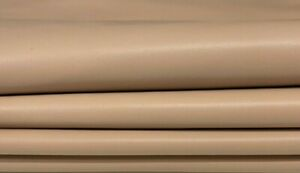 NUDE beige thin soft Lambskin lamb sheep leather skin skins 6sqf 0.5mm #A7601