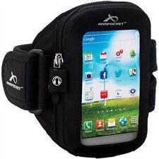 Armpocket Aero i-15 Sports Armband - Black  Small/7-11 Inch - water resistant
