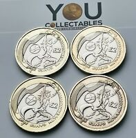 2002 £2 Two Pounds Coin  Commonwealth Games  England  Wales  Scotland  N.Ireland