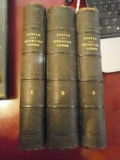 Médecine Rostan Cours de médecine clinique 3 tomes 1830