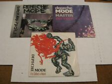 Depeche Mode/ Lot of three 45s/ Mute/ France/ Picture Sleeves