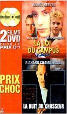 LA LOI DU CAMPUS / LA NUIT DU CHASSEUR // DVD neuf