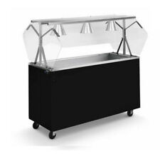 """Vollrath 3873860 Affordable Portable 60"""" (4) Well Cold Food Station"""