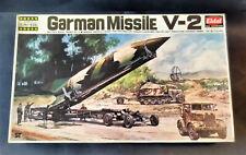 Vintage & very rare 1/76 EIDAI German Missile V-2 Model Kit