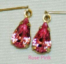 Pink Rhinestone Earrings Fashion Doll Cissy Vintage Miss Revlon Toni Sue