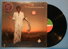 BEN E. KING LET ME LIVE IN YOUR LIFE LP 1978 ORIG SHRINK GREAT COND! VG++/VG++!!