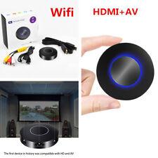 HDMI+AV RCA TV Car WiFi Display Dongle Receiver DLNA Airplay Miracast Mirroring