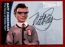 THUNDERBIRDS 50 YEARS - Matt Zimmerman (Eddie Kerr) Autograph Card - MZ4