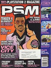 PSM October 2002 GTA: Vice City, Tekken 4 w/ML VG 070816DBE2