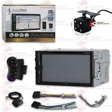 "Precision Power Car 2Din 7"" Dvd Cd Bluetooth Gps Stereo Free 170° Backup Camera"