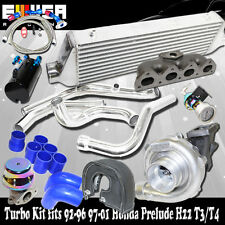Turbo+Intercooler Kit+Manifold for 93-01 Honda Prelude H22