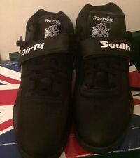Mens Reebok Classic MID(DirtySouth) NELLY Black Leather size10.5 Rare Vintage DS
