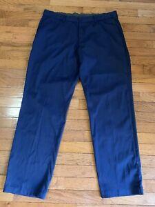 Nike Golf  Dri-Fit  Navy Blue  Golf Pants Slacks Men's Sz 38 x 32