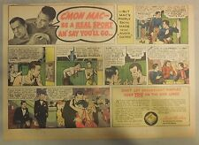 Fleischmann's Yeast Ad: C'Mon Mac Be A Champ and Say You'll Go Pimples ! 1930's