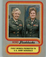 2019 TOPPS HERITAGE NEWS FLASHBACKS FIRST WOMEN PROMOTED TO ARMY GENERALS