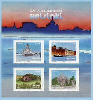 France 2019 MNH Helsinki European Capitals 4v M/S Architecture Tourism Stamps