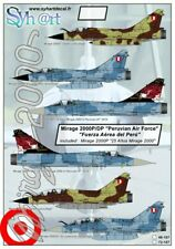 "Syhart 1/48 Mirage 2000P/DP ""Peruvian Air Force"" # 48107"