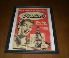 Ortlieb Beer Framed Color Ad Print
