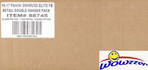 2016 Donruss Elite Football EXCLUSIVE Sealed 30 Box HANGER CASE-30 AUTO/MEM