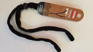 Chums Original Cotton Eyewear Retainer Sunglass Strap Standard End, Black