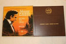 1970 MINT-EXC BOX&VG 5 LPS Johnny Cash &Jeannie Riley Born To Sing SET LS205